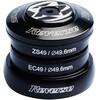 Reverse Base Balhoofdlager ZS49/28.6 | ZC49/30+40 zwart